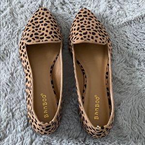 Shoes - Never worn cheetah flats